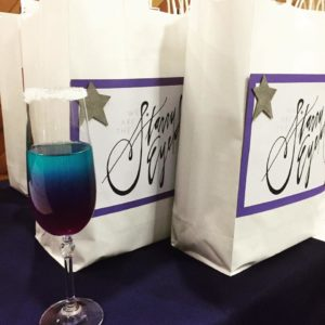 Welcome bags and welcome drink!